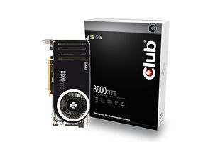 Club 3D GeForce 8800 GTS 320MB Heatpipe (320 MB / PCIe)