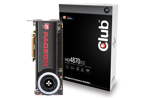 Club 3D Radeon HD 4870 X2 2GB GDDR5