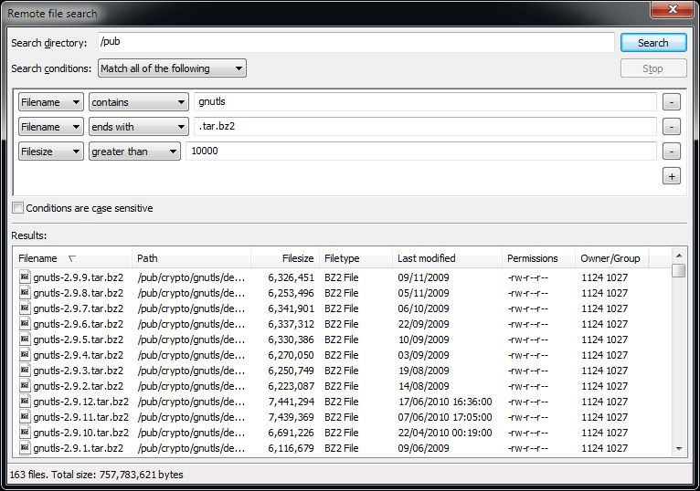 filezilla  windows 7 64 bit