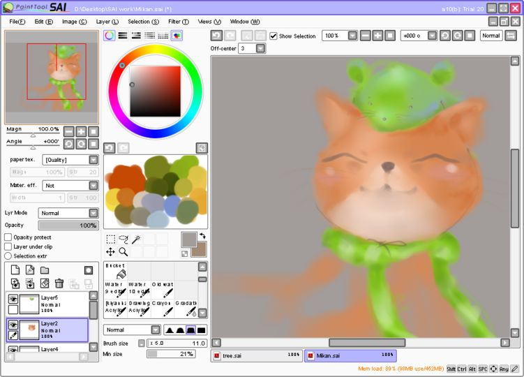 Paint tool sai download