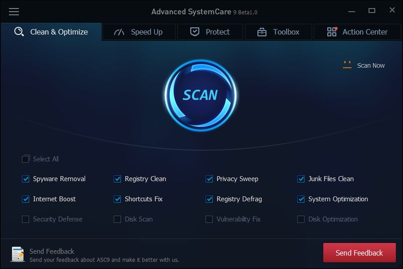 Advanced system care pro v3.1.2