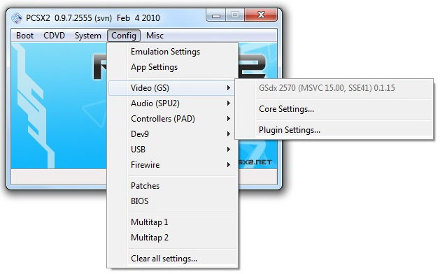 Инструкция по настройке ps2 эмулятора - pcsx2