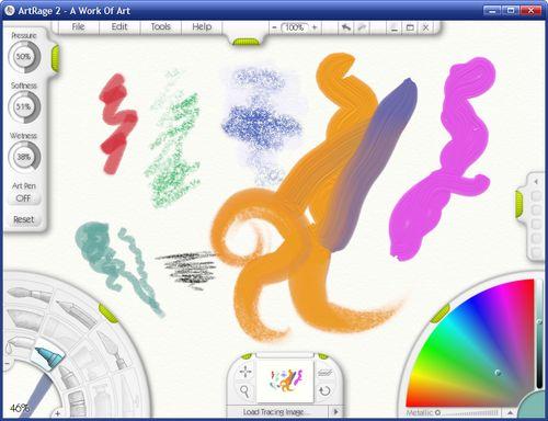 Artrage Straight Line : Download artrage starter edition v freeware