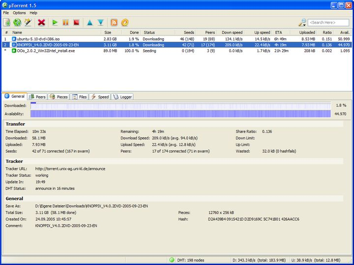 utorren1.8.4 thai