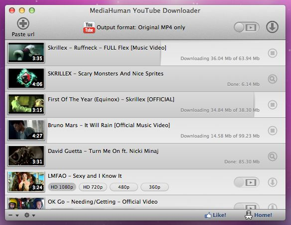 lataa mediahuman youtube downloader for mac os x v3 6 4. Black Bedroom Furniture Sets. Home Design Ideas