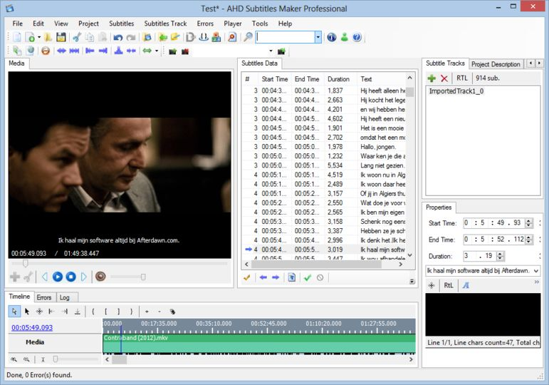 3 Free Subtitle Downloader Software for Windows 10