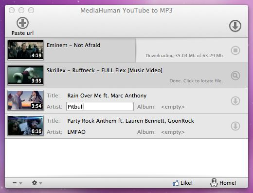 Download MediaHuman YouTube to MP3 Converter (portable) v3