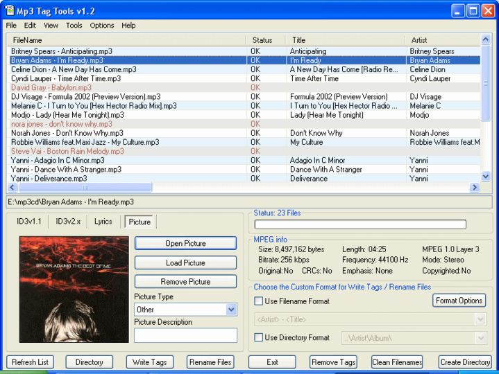 Download Mp3 Tag Tools V1 2 Build 008 Gratis Freeware
