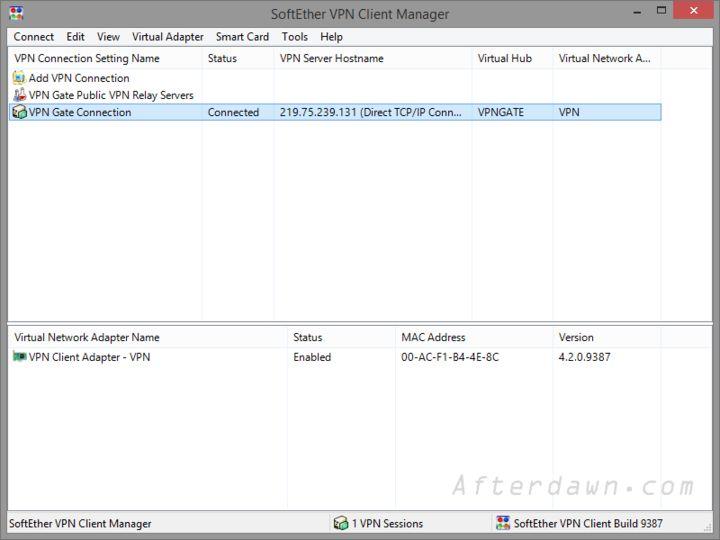 Softether vpn client manager на русском - 529