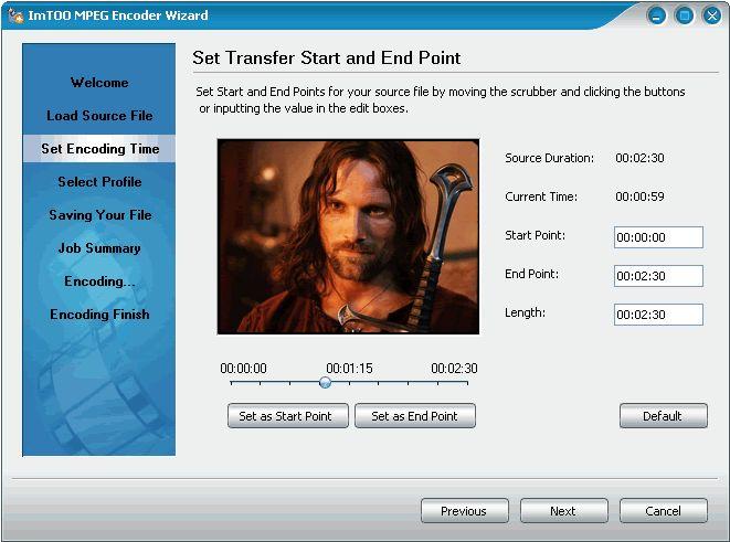 ImTOO MPEG Encoder - мощная утилита для конвертирования видео-файлов