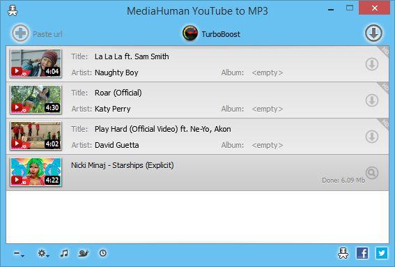 Lataa MediaHuman YouTube to MP3 Converter v3.9.8.13 - download.fi