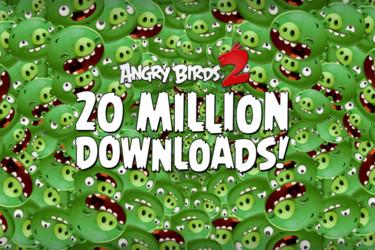 Vihaiset linnut kiinnostavat edelleen – uutuuspelillä jo 20 miljoonaa latausta