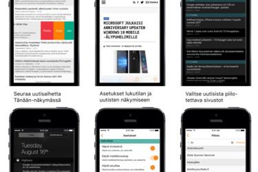 Kaikki uutiset suoraan iPhonen T�n��n-n�kym��n - Highkara, uutisvahti iPhonelle p�ivittyi