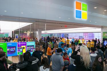 Microsoft sulki Helsingin kivijalkamyym�l�n