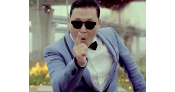 Gangnam Style runder 1 milliard hits p YouTube