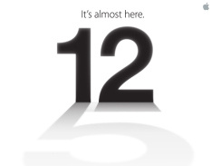 Apple sends invites for September 12th event