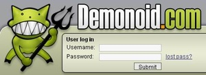 Demonoid tracker is finally back