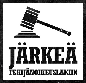Eduskunta hylk�si J�rke� tekij�noikeuslakiin -aloittee