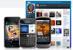 'Rdio' cloud music service finally launched