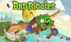 Rovio launches new 'Bad Piggies' game