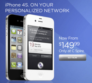 U.S. regional carrier drops price of iPhone 4S