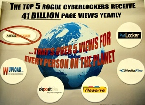 Paramount Pictures identifies 5 'rogue' cyberlockers that should be shut down