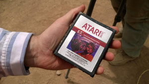 Urban legend confirmed as E.T. Atari games are exhumed