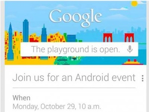 Google to unveil new Nexus smartphone on October 29th