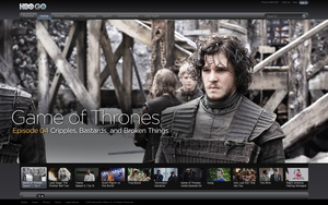 HBO Go crashes after Game of Thrones premiere