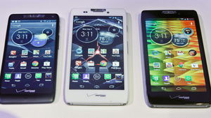 Motorola shows off revamped Razr line