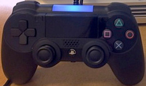 PS4 prototype controller picture leaks