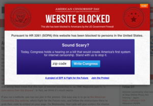 Voters boot SOPA backers from Congress