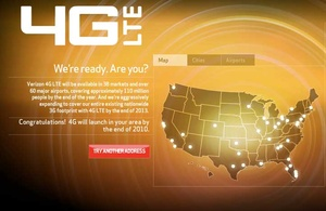 Verizon expands LTE network to 29 new markets