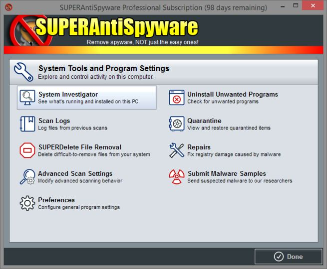 free super antispyware